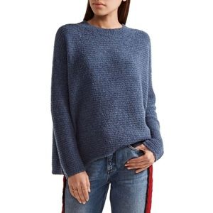 Vince oversized crew wool &cashmere blend sweater